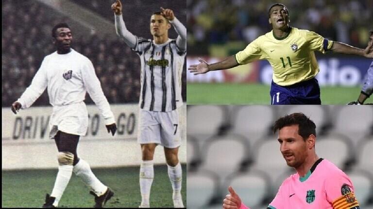 قائمة أفضل 5 هدافين في تاريخ كرة القدم.. لاعب واحد يهدد عرش رونالدو 60091810