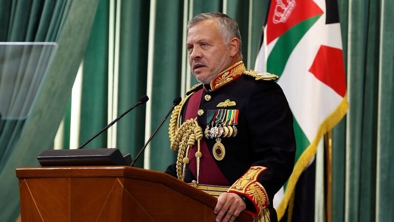 الملك الأردني يوجه رسالة إلى شعبه حول التطورات الأخيرة 606dd810