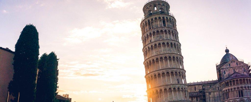 برج بيزا المائل أصبح يميل بدرجةٍ أقل Leanin10