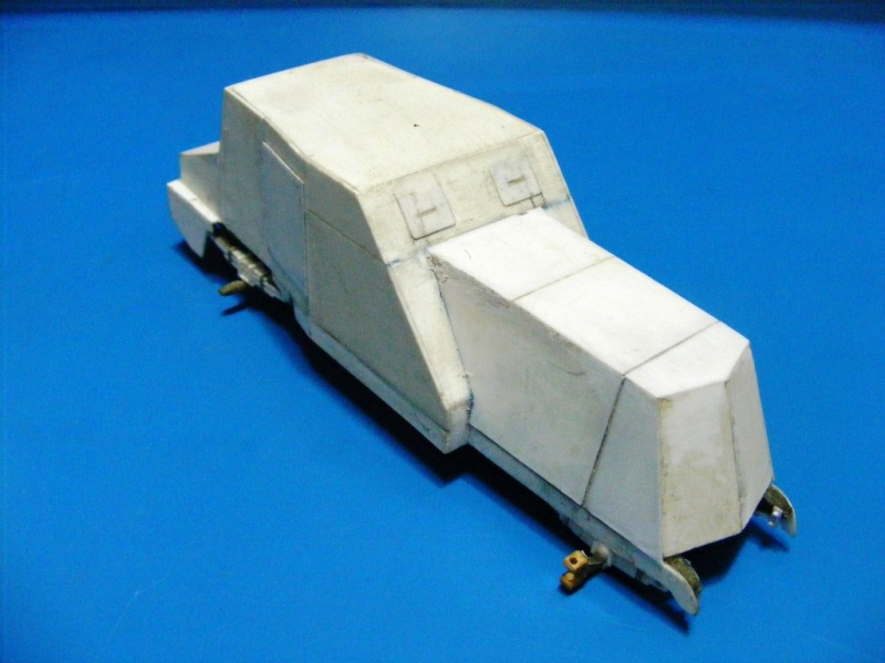 SCRATCHBUILDING A 1/35 SCALE BA 27 ARMOURED CAR. constuction ready 1310