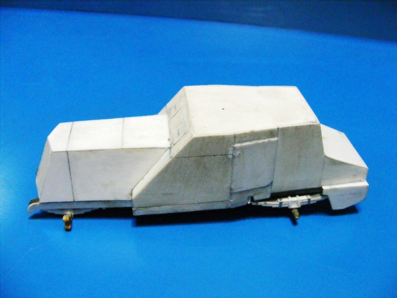SCRATCHBUILDING A 1/35 SCALE BA 27 ARMOURED CAR. constuction ready 1410