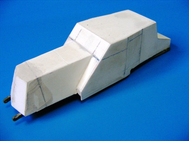 SCRATCHBUILDING A 1/35 SCALE BA 27 ARMOURED CAR. constuction ready 210