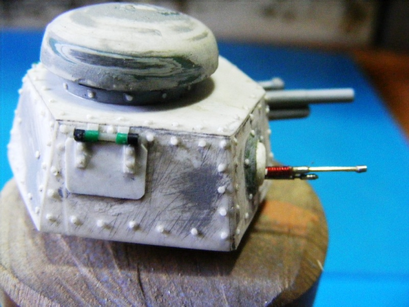 SCRATCHBUILDING A 1/35 SCALE BA 27 ARMOURED CAR. constuction ready 2110