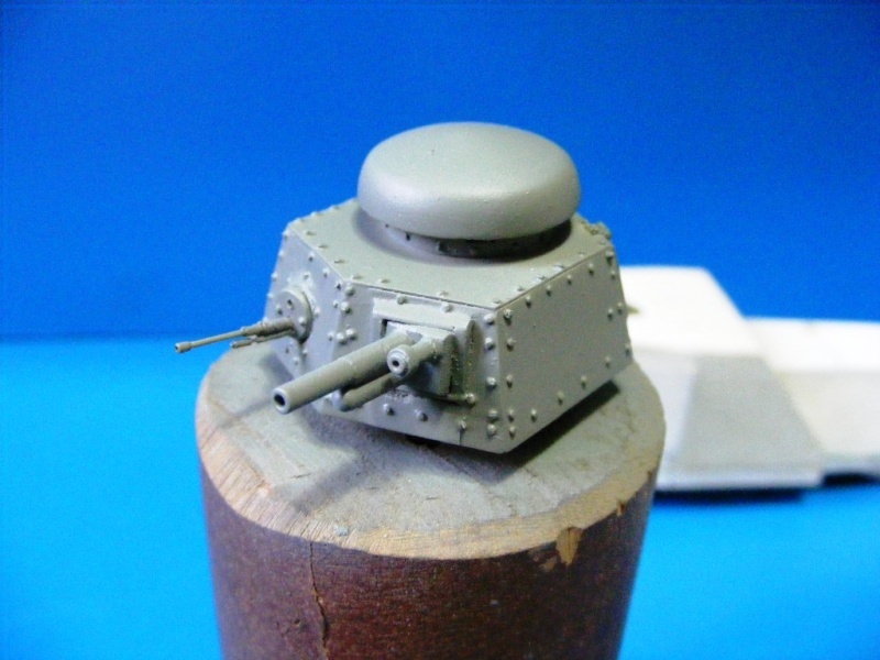 SCRATCHBUILDING A 1/35 SCALE BA 27 ARMOURED CAR. constuction ready 2210