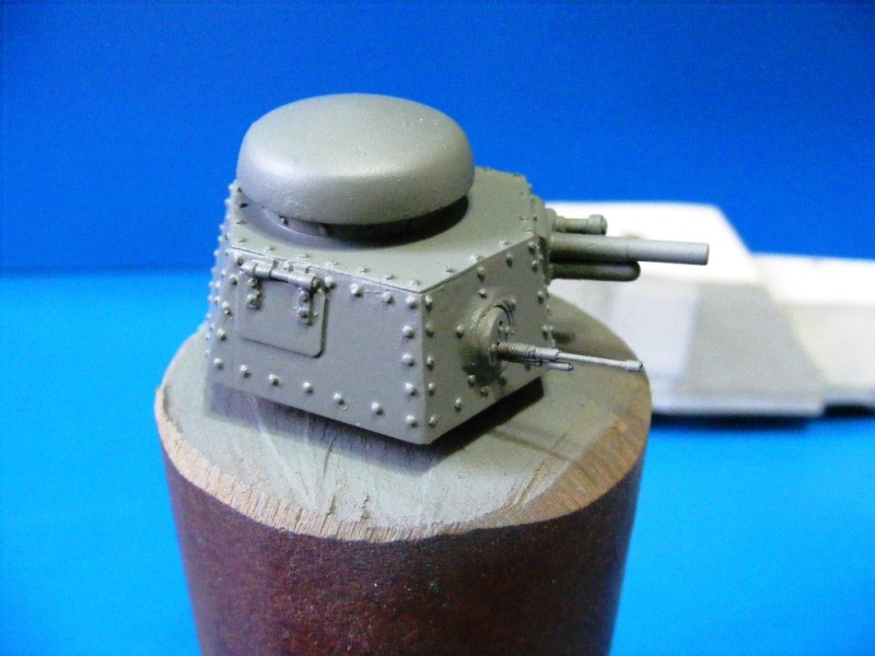 SCRATCHBUILDING A 1/35 SCALE BA 27 ARMOURED CAR. constuction ready 2310