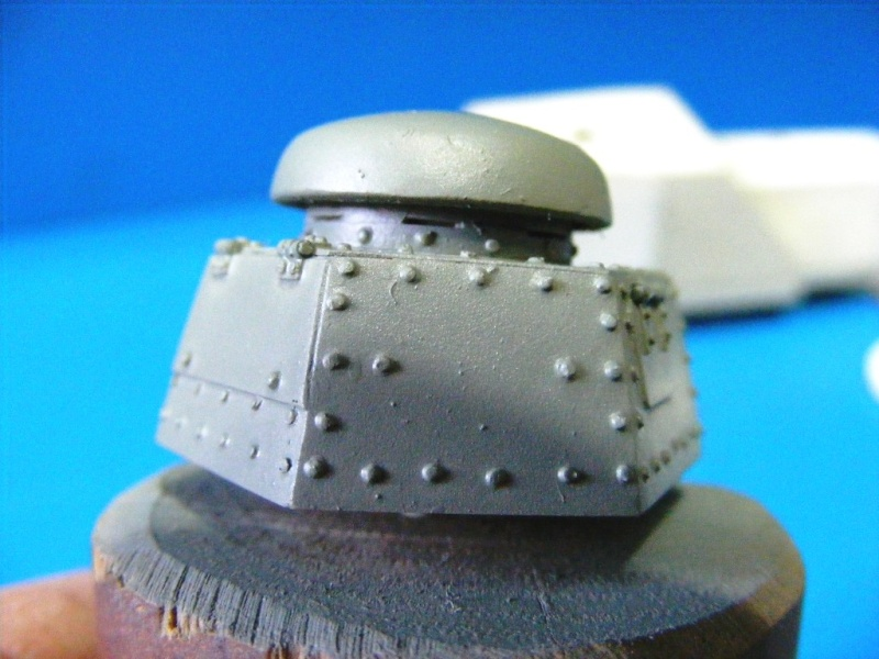 SCRATCHBUILDING A 1/35 SCALE BA 27 ARMOURED CAR. constuction ready 2410