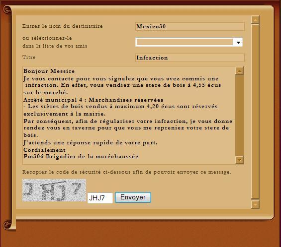 [SS] Affaire Mexico30- Escroquerie    Affaire  a archiver Lettre32