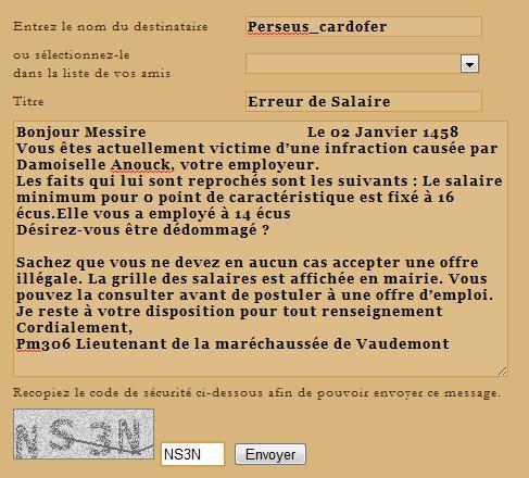 [SS] Affaire Anouck - Escroquerie 2 Dossier terminé Lettre42