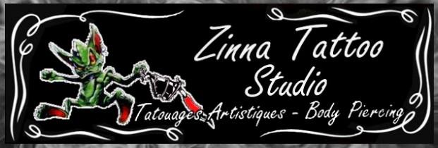 ZINNA  TATTOO STUDIO ( Tatouages & Piercing) Sha613