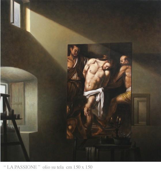 Le Opere Caravaggesche del Maestro Nunziante Passio11