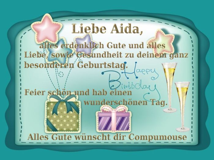 Happy Birthday Aida Aida10