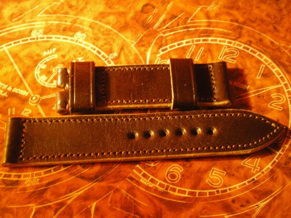 Vintage leather handmade strap for my 99.1 410