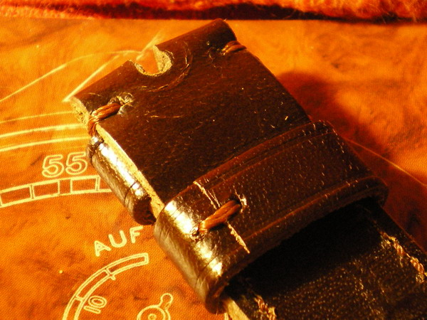 Vintage leather handmade strap for my 99.1 510
