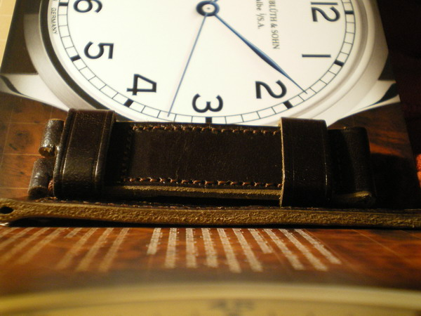 Vintage leather handmade strap for my 99.1 910
