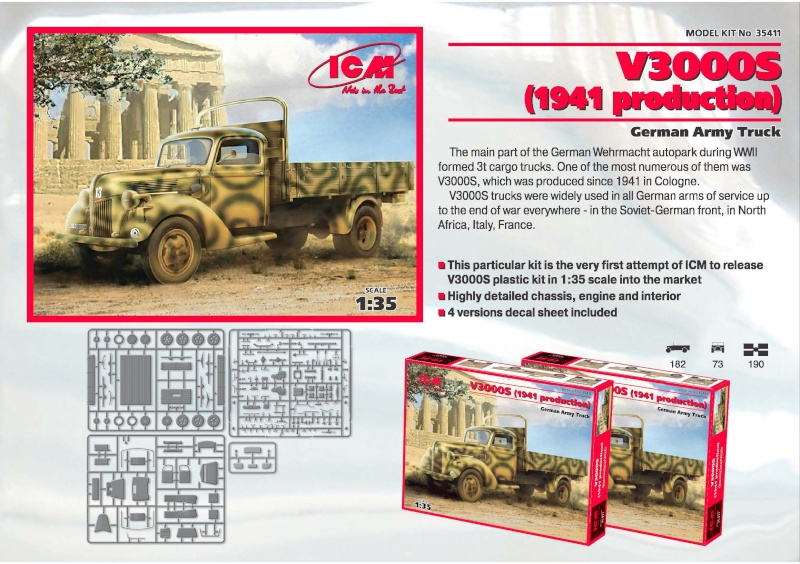 Ford V3000S ICM 12888710