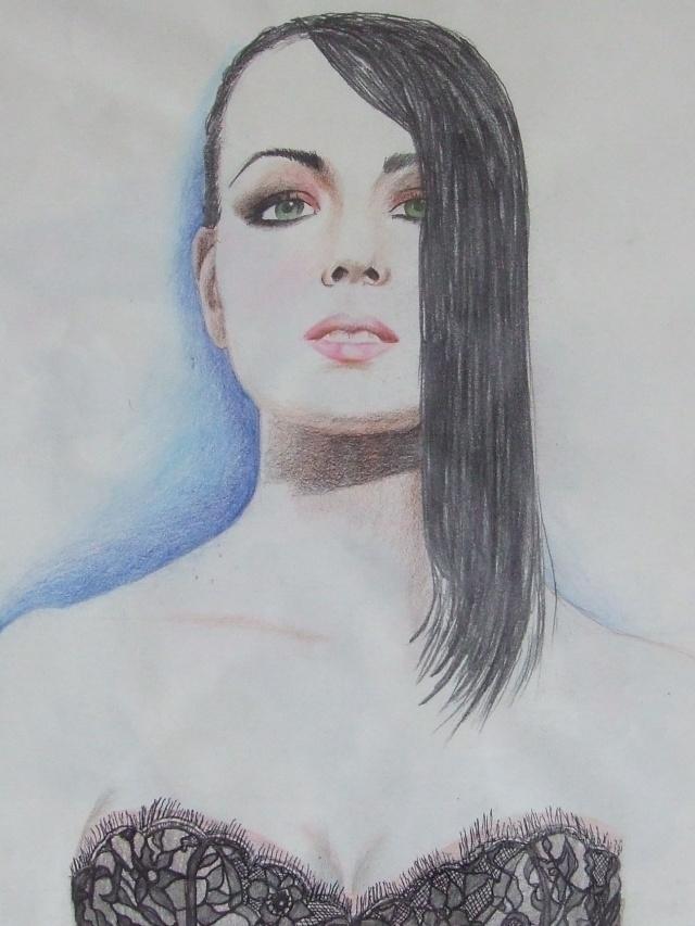 Portraits au crayons  de couleurs Dscf1210