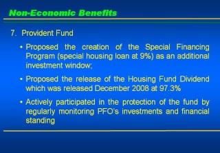 2008 ACCOMPLISHMENT REPORT Slide115