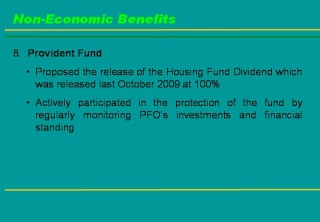 2009 ACCOMPLISHMENT REPORT Slide121
