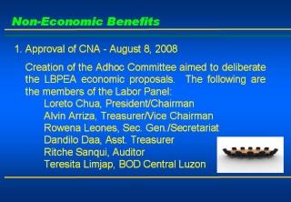 2008 ACCOMPLISHMENT REPORT Slide510