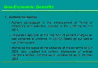 2009 ACCOMPLISHMENT REPORT Slide811