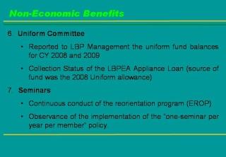 2009 ACCOMPLISHMENT REPORT Slide911