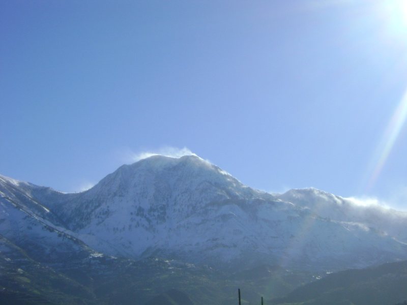 La neige à Issek Dsc03827