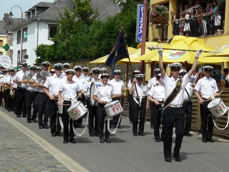 La fanfare des Cadets de Liège 21_jui10