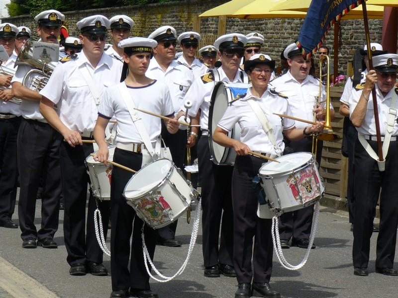 La fanfare des Cadets de Liège 21_jui11