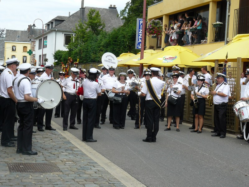 La fanfare des Cadets de Liège 21_jui12