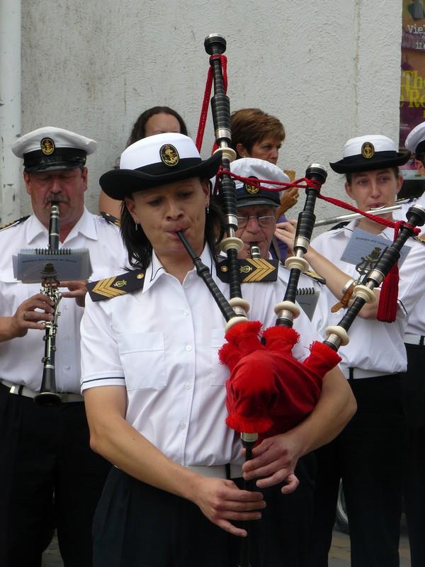 La fanfare des Cadets de Liège 21_jui13