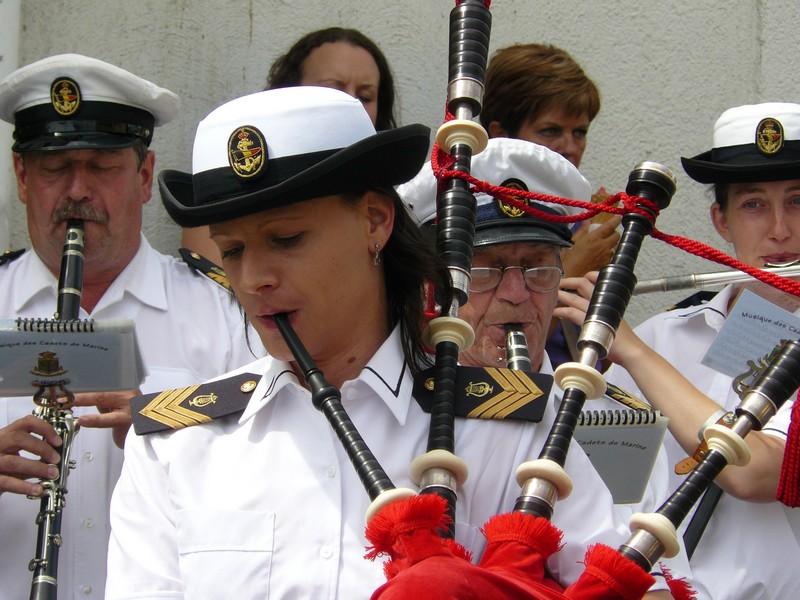 La fanfare des Cadets de Liège 21_jui14