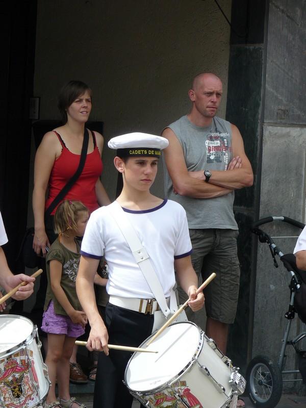 La fanfare des Cadets de Liège 21_jui15