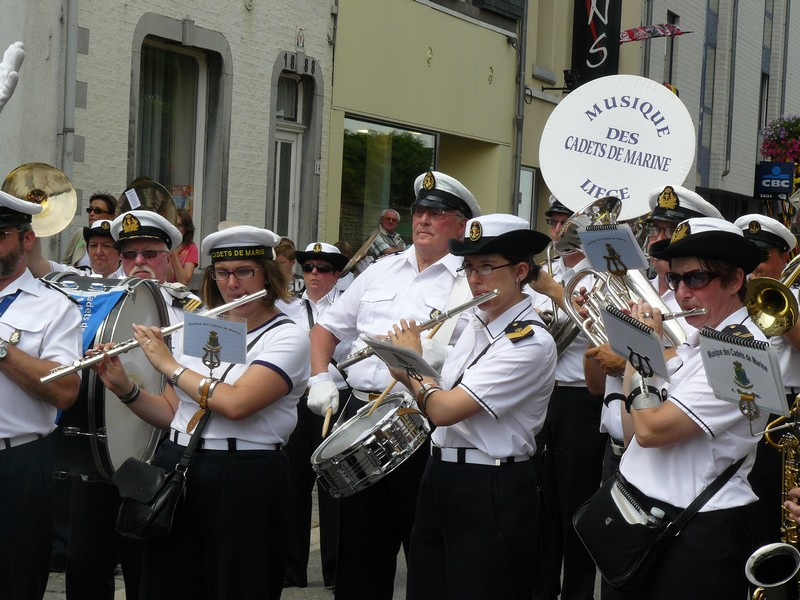 La fanfare des Cadets de Liège 21_jui17