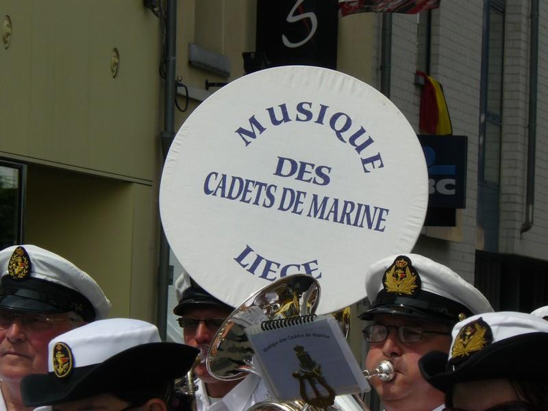 La fanfare des Cadets de Liège 21_jui18