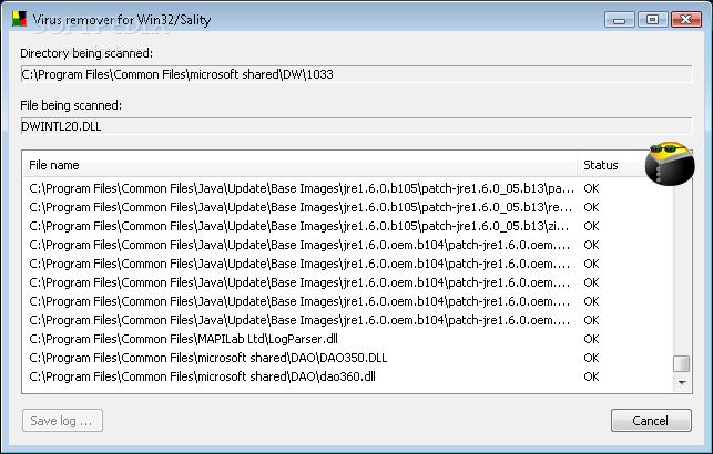 حصريا طريقة التخلص من فيروس win32.sality او الفيرس الصينى بأدة بسيطة بحجم 100 كيلو Win32-10