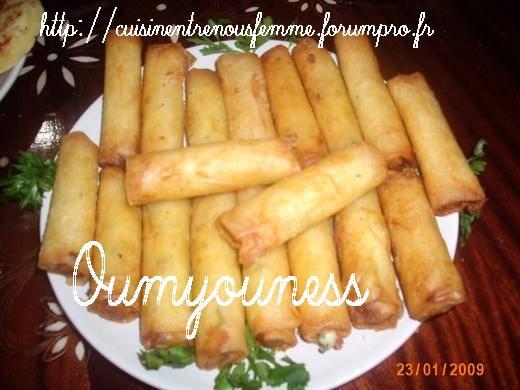 Cigares / Rouleaux farcis aux pommes de terre et fromage Edam. Photo_13