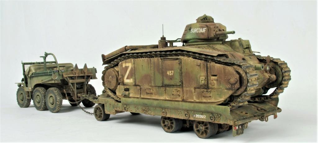 Convoi Laffly S45 + B1-bis 1/35 4e DCR 47e BCC B1_bis11