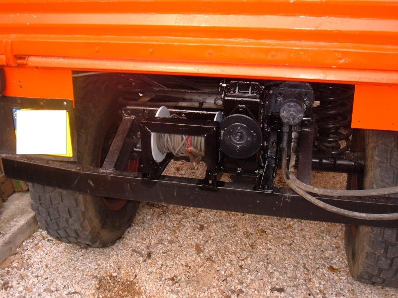 Montage treuil hydraulique sur 406 Dscf1511