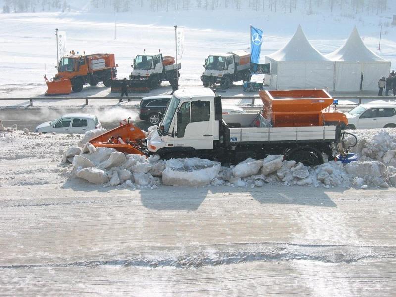 photos unimog chasse neige 05010511