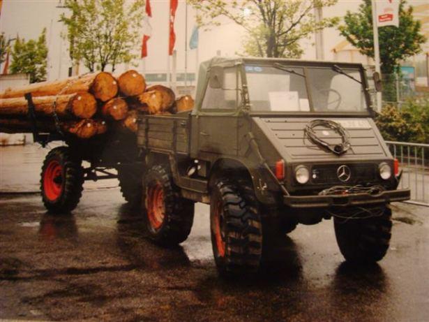 unimog mb-trac wf-trac pour utilisation forestière dans le monde - Page 2 Forst10
