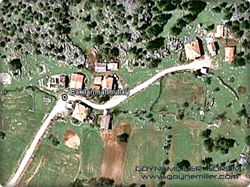 Bakılar,Geydeş,Kayaarası ve Pınarbaşı'na uzaydan bakış Bakila11