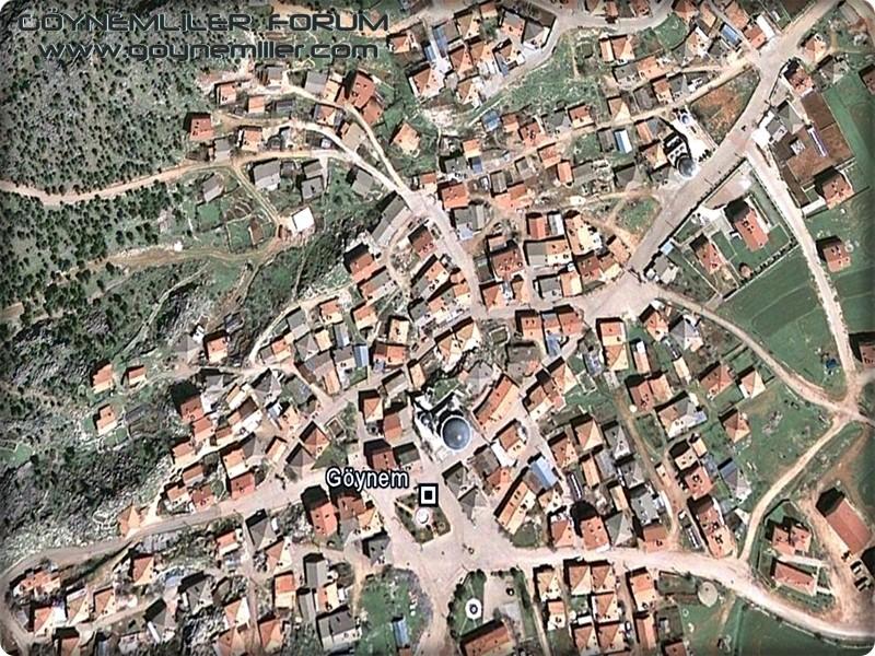 Uzaydan Göynem'e bakış Goyuza11