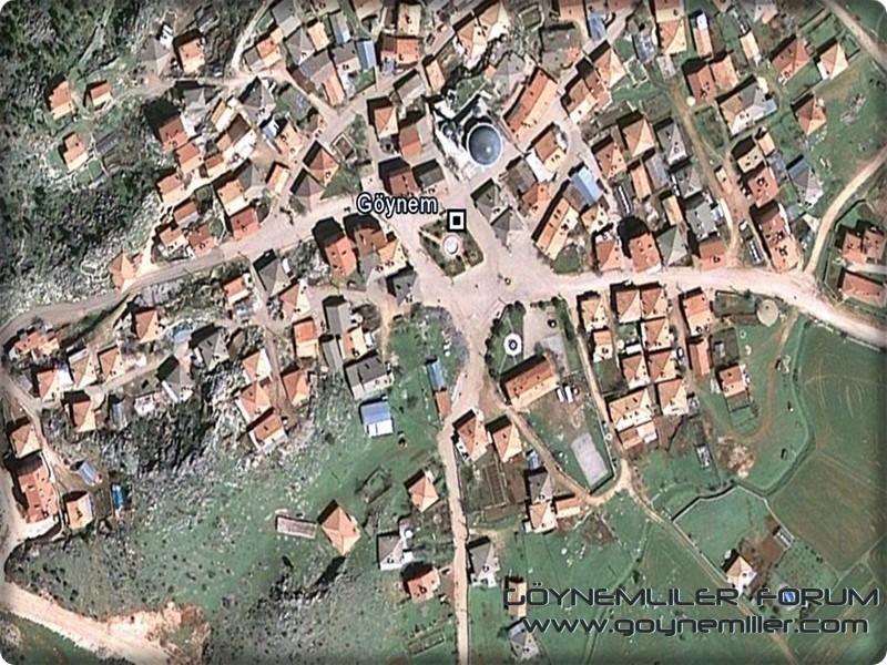 Uzaydan Göynem'e bakış Goyuza13