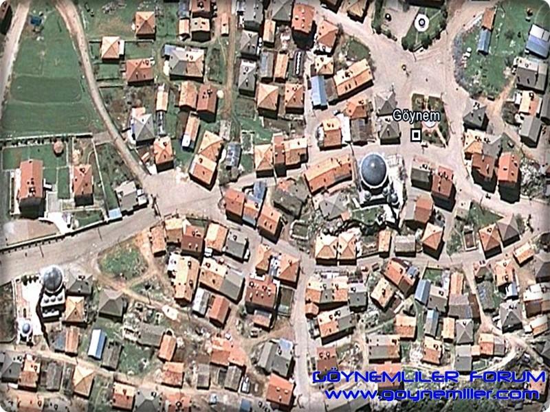 Uzaydan Göynem'e bakış Goyuza19