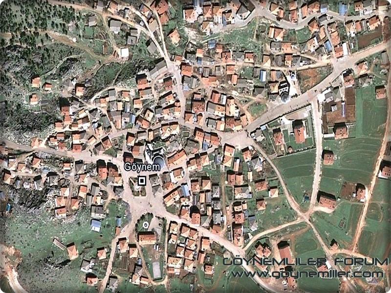 Uzaydan Göynem'e bakış Goyuza24