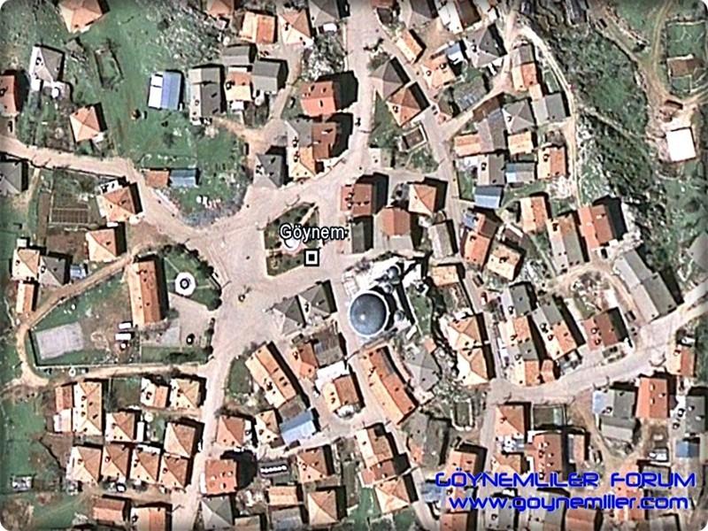 Uzaydan Göynem'e bakış Goyuza25