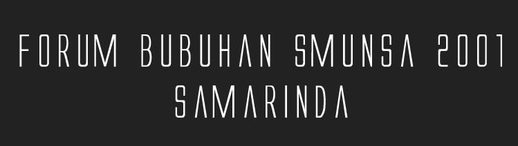 Smunsa 2001 Samarinda
