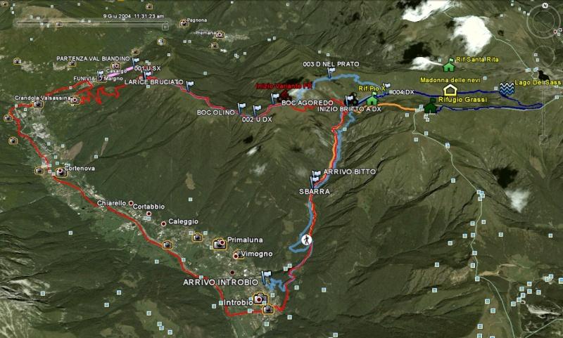 Dorsale Pian delle Betulle-Val Biandino (LC) 17 o 18 luglio 2010 Percor11