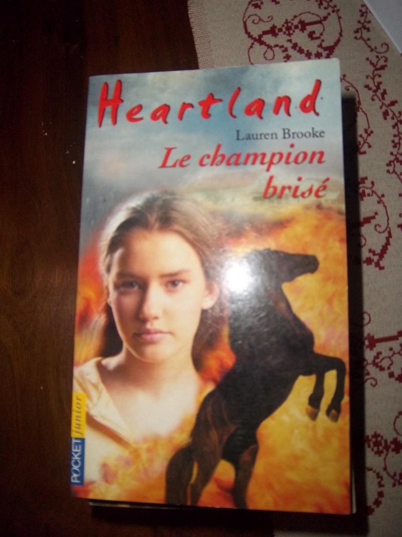 """Livre Heartland """"le champion brisé"""" Imgp0518"""