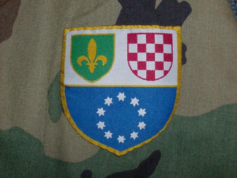 Bosnian woodland camouflage jacket & shirt Bosnia15